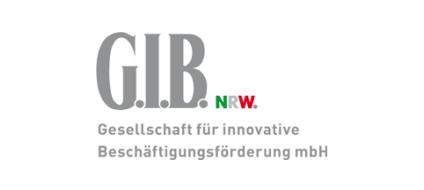 Logo G.I.B. Gesellschaft für innovative Beschäftigungsförderung mbH