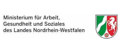 Logo MAGS Ministerium für Arbeit, Gesundheit und Soziales des Landes Nordrhein-Westfalen