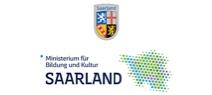 Logo Bundesland Saarland und MBK Ministerium für Bildung und Kultur